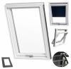 Dachfenster RoofLITE® TRIO PVC APY 3-Fach PVC-Profile Schwingfenster Uw=1,1 Profile in Weiß