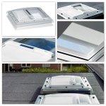 Solar-Hitzeschutz-Markise Velux MSG für Flachdach-Fenster