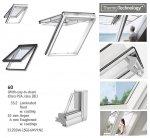 Klapp-Schwingfenster VELUX GPU 0060 5-STAR Kunststoff-Fenster mit Riesen-Öffnungswinkel