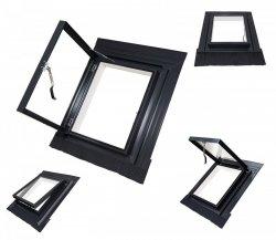 Ausstiegsfenster ROYALO Skylight PVC 45x55 - 45x75  für ungeheizte Räume