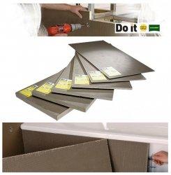 Bauplatte Ultrament Do-it Trockenbau XPS Wedi byggeplade Kreativbauplatte
