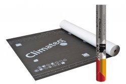 165g Wabis Membrane Climateq PRO 165 165/m² Reißkraft 360/220 Sd 0,02 -40/+120°C Unterspannbahn Hochdiffusionsoffen (75m²)