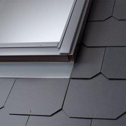 OUTLET: Eindeckrahmen Velux EDL 0000 SK08 Schiefer Schichtstück Für flache Eindeckmaterialien