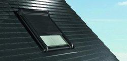 Außenrollladen Roto Designo ZRO E Automatische Rolladen für Dachfenster Roto Designo line