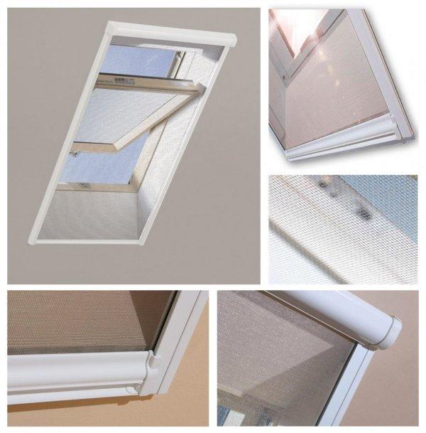 Insektenschutzrollo Fakro AMS Zubehör für Dachfenster www.house-4u.eu