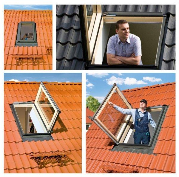 OUTLET: Ausstiegsfenster Fakro FWP U3 66x118 Thermoisolations-Ausstiegsfenster 1,3 W/m2K Versand 48H