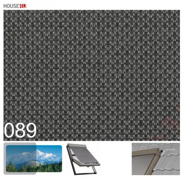 Hitzeschutz Markise Manuell Netzmarkisen Fakro AMZ I gruppe: 89 90 farbe, transparent Anti-Hitze-Markise für FAKRO Dachfenster  www.house-4u.de