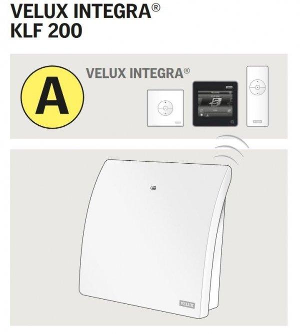 VELUX INTEGRA ® KLF 200 Die Steuerung - Interface zur Fernsteuerung von io-homecontrol _ house-4u.de
