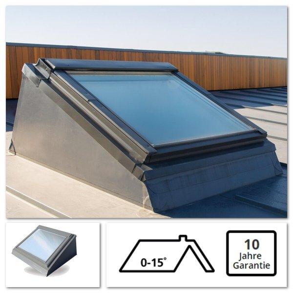 Flachdachfenstersystem Keylite FRS