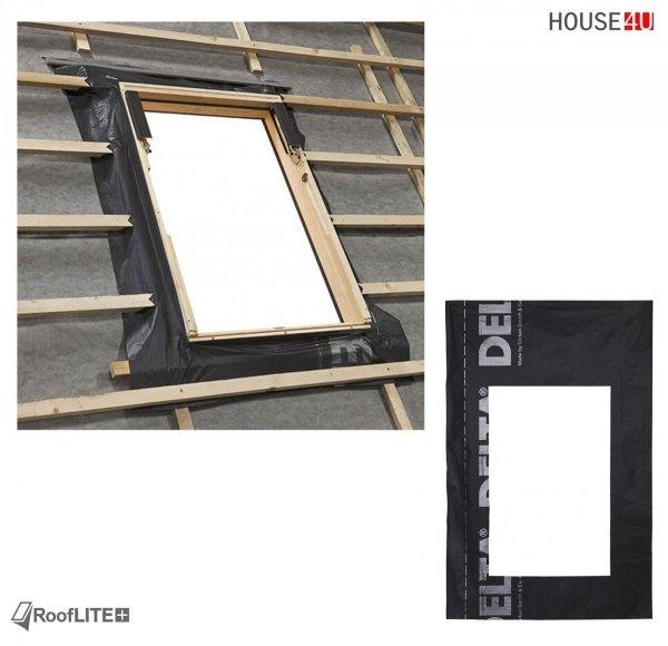 Werbeset RoofLITE TRIO PVC APY + TFX + DUA  + MIA Gratis: RUC + IFC 3-fach Dachfenster Schwingfenster aus Kunstoff mit Eindeckrahmen, Verdunkelungsrollo,  Anti-Hitze-Markise und GRATIS ISOLATION-SET IFC + RUC  24-05 / 30-06-2021