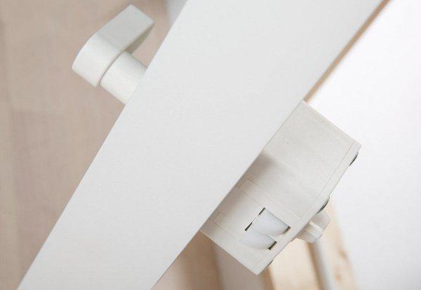 OUTLET: Kniestocktür DOLLE 80 x 54 cm clickFIX® mit Wärmedämmung Kniestocktür U-Wert 0,65 Fichte Weiß Lack