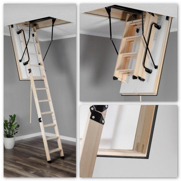 Bodentreppe Oman EI 45 Feuerschutz Bodentreppe aus Holz