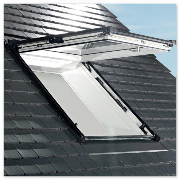 Dachfenster Roto Designo WDF R88C K WD Klapp-Schwingfenster aus Kunststoff mit Wärmedämmblock alternative für R85