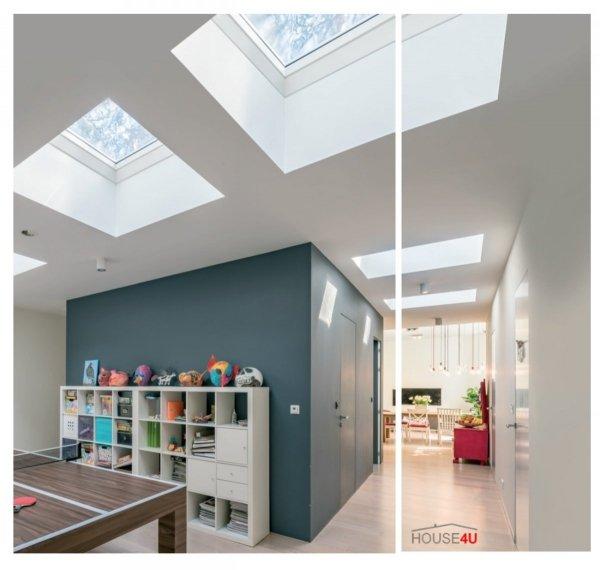 Flachdach-Fenster FAKRO Festelement  DXZ-A TYP Z Glas mit der Neigung U=0,95 W/m²K * Festverglastes NEU 2019