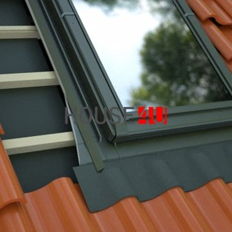 Eindeckrahmen Okpol Universell KU+ Eindeckmaterialien Für Ziegel und Profilmaterialien bis 45 mm