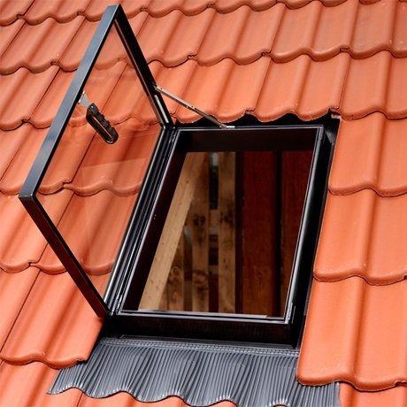 Ausstiegsfenster VELUX GVT 54X83 0059Z gehärtetes Glas für ungeheizte Räume