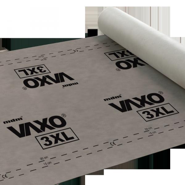 180g Unterspannbahn mdm VAXO 3XL 180g/ m²  Reißkraft 320/180 Sd 0,03 -40/+80°C Wasserdampfdurchlässigkeit 3200g  Unterspannbahn Hochdiffusionsoffen (75m²) www.house-4u.eu