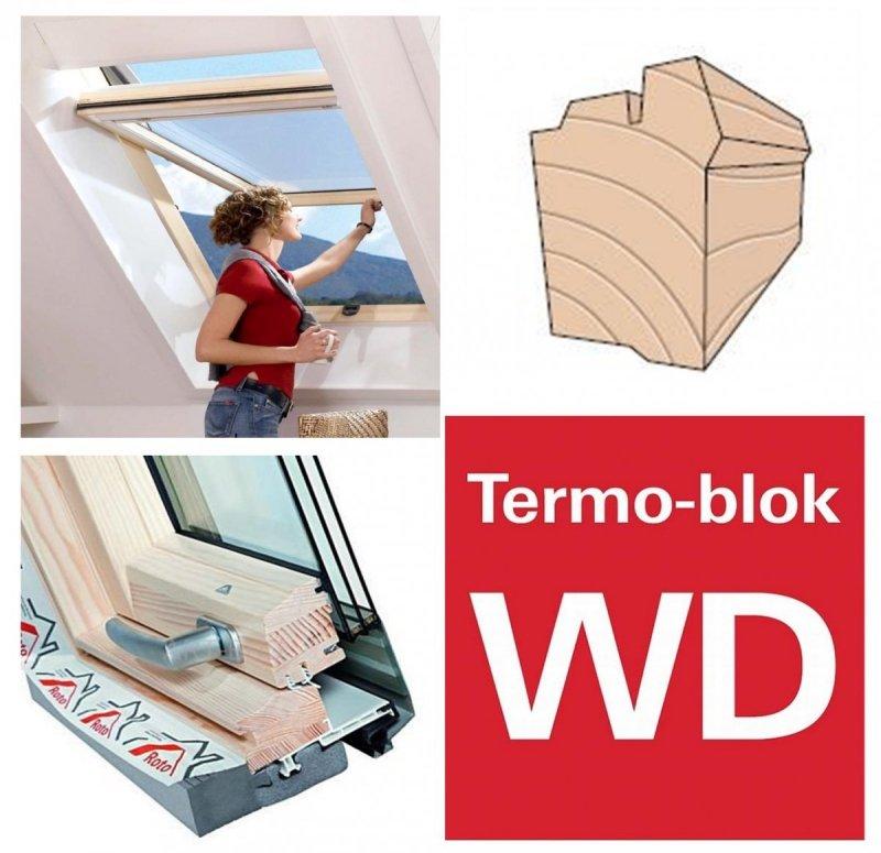 Dachfenster roto designo r7 hoch schwingfenster r79 h 3 fach verglasung uw wert 1 1 energie holz - U wert fenster 2 fach verglasung ...