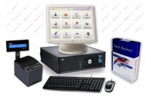 Zestaw: komputer, ekran dotykowy ELO, oprogramowanie Bistro Mini, drukarka fiskalna Thermal XL
