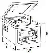 Pakowarka próżniowa CAS CVP-260/PD/GAS
