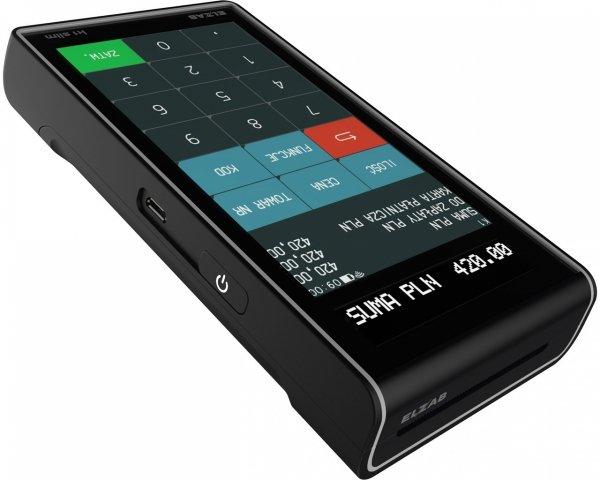 Kasa fiskalna ELZAB K1 SLIM ONLINE BT/GPRS