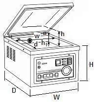 Pakowarka próżniowa CAS CVP-260/PD