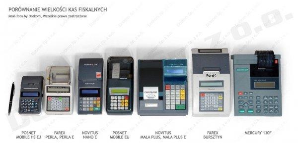 Kasa fiskalna Posnet Mobile EU + serwis GRATIS