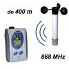 Wiatromierz bezprzewodowy Navis WR3-B anemometr mechaniczny z czujnikiem temperatury