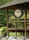TFA 60.3011 NOSTALGIA zegar ścienny zewnętrzny ogrodowy retro klasyczny z termometrem