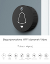 Wideodomofon on-line PIRI dzwonek WiFI do drzwi z kamerą do inteligentnego domu