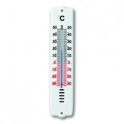 TFA 12.3009 termometr ścienny cieczowy wewnętrzny / zewnętrzny 21 cm