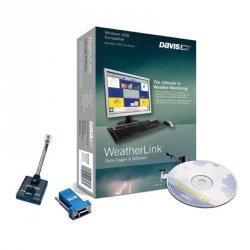 Oprogramowanie z rejestratorem danych Davis 6510SER WeatherLink RS232