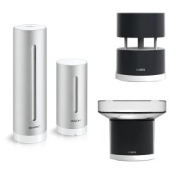 Stacja pogody internetowa Netatmo Weather Station + Rain Module + Wind Module inteligentna stacja meteo on-line WiFi