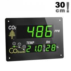 Stacja kontroli jakości powietrza TFA 31.5002 AirCO2ntrol Observer wewnętrzna wskaźnik stężenia CO2