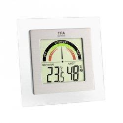 Termohigrometr domowy TFA 30.5023 elektroniczny wewnętrzny