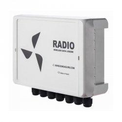Rejestrator danych 8-kanałowy moduł transmisyjny GPRS/GSM PM Ecology RADIO profesjonalna stacja meteorologiczna