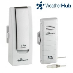 Internetowy system pomiarowy WeatherHub TFA 31.4002 zestaw startowy do 50 czujników