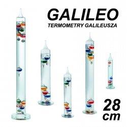 Termometr Galileusza 28 cm Contento GAL28C GALILEO mały kolorowy