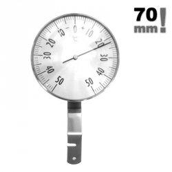 Termometr okienny Viking 02304 mechaniczny zewnętrzny metalowy