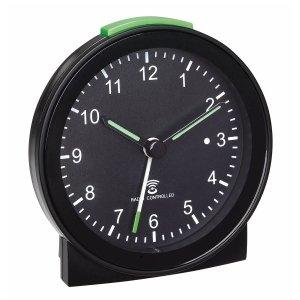 TFA 60.1517 budzik biurkowy zegarek wskazówkowy sterowany radiowo płynąca wskazówka.