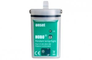 Rejestrator temperatury HOBO UA-002-08 data logger termometr wodoszczelny