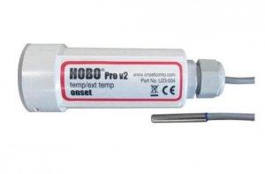 Rejestrator temperatury dwukanałowy HOBO U23-004 data logger termometr ze zintegrowaną sondą zewnętrzny