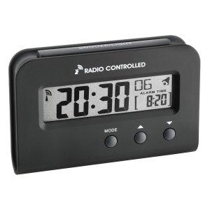 TFA 60.2513 budzik biurkowy zegar elektroniczny sterowany radiowo