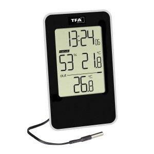 TFA 30.5048 termohigrometr domowy elektroniczny z sondą