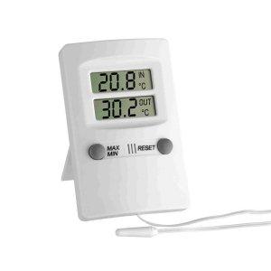 TFA 30.1009 termometr elektroniczny z zewnętrznym czujnikiem przewodowym