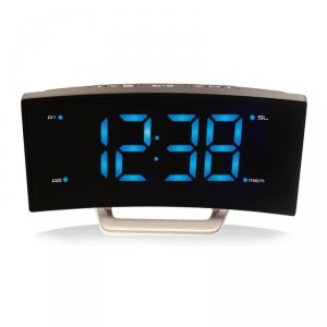 TechnoLine WT 460 budzik zegar biurkowy LED z odbiornikiem radiowym
