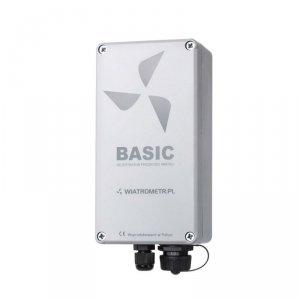 PM Ecology BASIC rejestrator danych 2-kanałowy rejestrator prędkości i kierunku wiatru do przydomowej turbiny wiatrowej