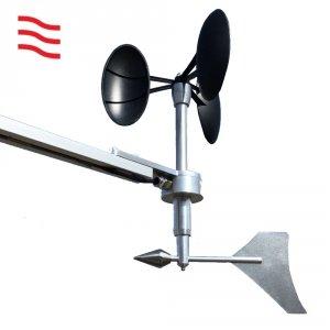 Barani MeteoWind Compact czujnik prędkości i kierunku wiatru wiatromierz mechaniczny profesjonalny WMO