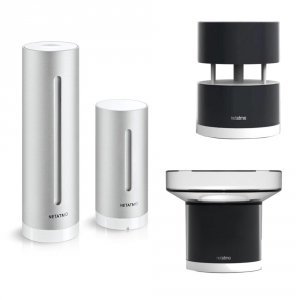 Netatmo Weather Station + Rain Module + Wind Module Stacja pogody internetowa inteligentna stacja meteo on-line WiFi