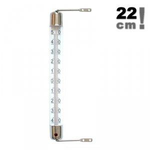 Viking 02061 termometr okienny cieczowy zewnętrzny metalowy